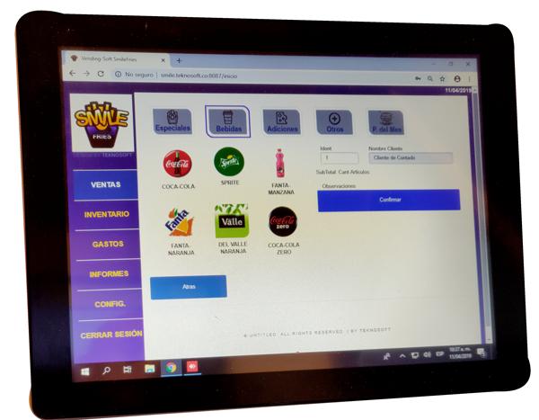 VendingSoft Software de Restaurantes